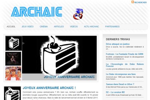 Archaic.fr - Le site vieux jeu Accueil1