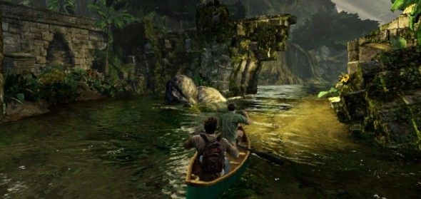 uncharted golden abyss ps vita 005 e1332525723376 590x279 Uncharted : Golden Abyss