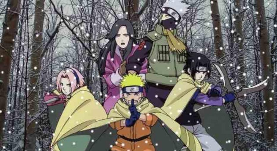 Naruto et la princesse des neiges archaic - La princesse de neige ...