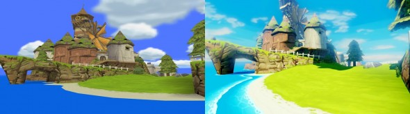 Une petite idée de la différence entre les deux versions