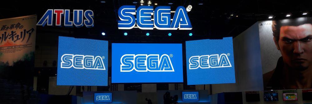Le stand SEGA