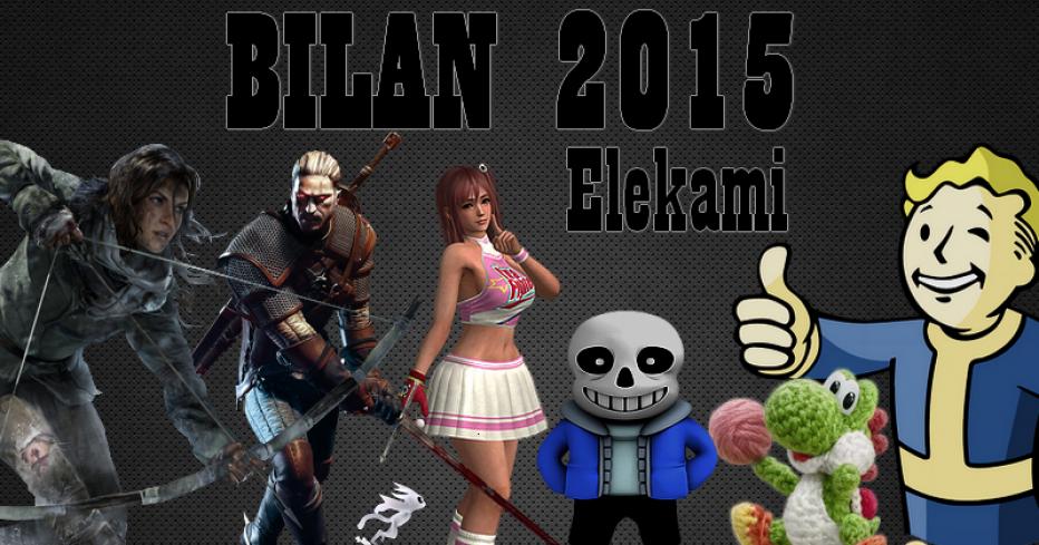 Bilan de l'année 2015 [Elekami]